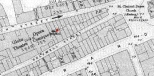 Holywell Street 1894 map, linking to David Furlong website